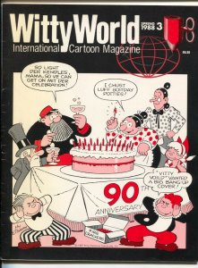 Witty World #3 1988-International Cartoon Magazine-Katzenjammer Kids-Ralph Baksh