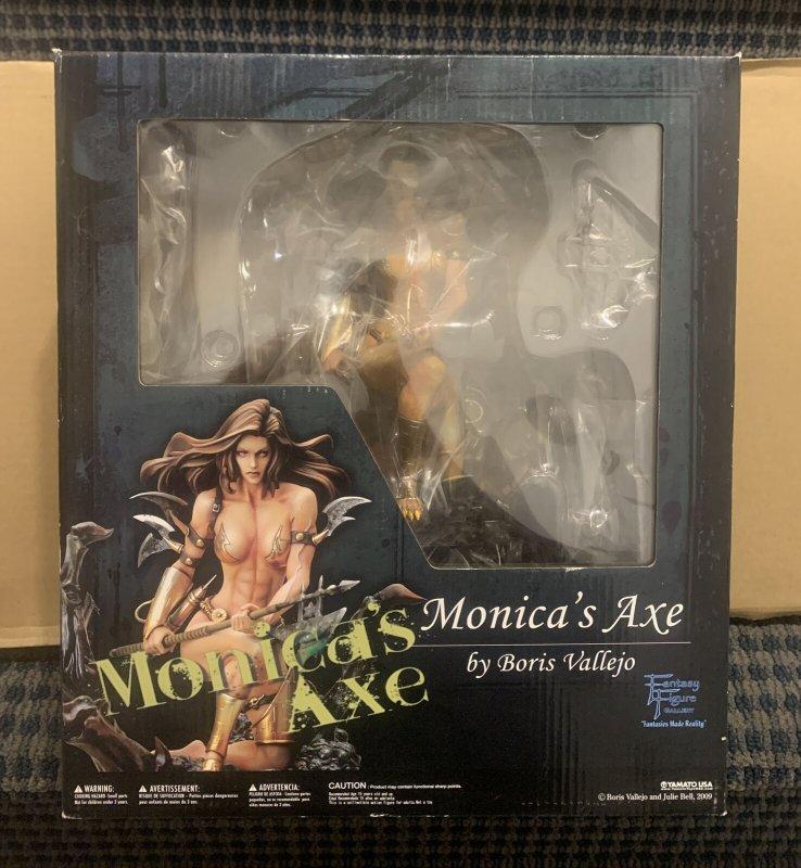 Monica's Axe Statue FANTASY FIGURE GALLERY By BORIS VALLEJO 1/6 Scale Brand New