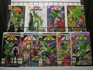 FLY (1983-1984 ARCHIE) 1-9 STERANKO cvrs, DITKO art