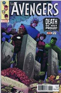 Avengers Vol 6 #5.1 2017 Marvel Comics Barry Kitson Cover