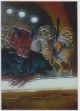 1996 Topps Finest Star Wars LABRIA #66 Chromium