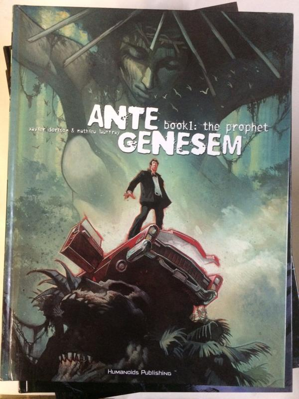 ANTE GENESEM Bk. 1: The Prophet by Dorison & Lauffray (2002 Hardcover) Humanoids