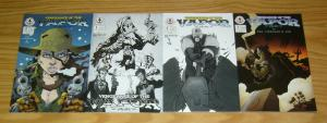 Vengeance of the Vapor #1-2 VF/NM complete series + two limited edition variants
