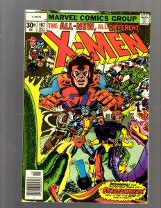 (Uncanny) X-Men # 107 VF Marvel Comic Book Beast Angel Cyclops Magneto SM19