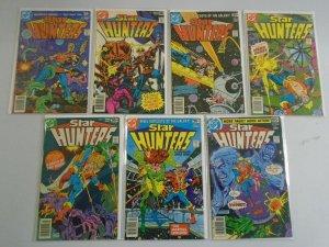 Star Hunters set #1-7 6.0 FN (1977)
