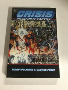 Crisis On Infinite Earths Second Print Nm Near Mint DC Comics SC TPB
