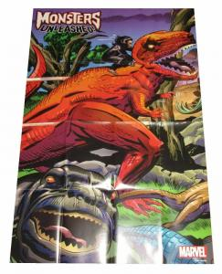 Monsters Unleashed Folded Promo Poster Devil Dinosaur (24 x 36) - New!