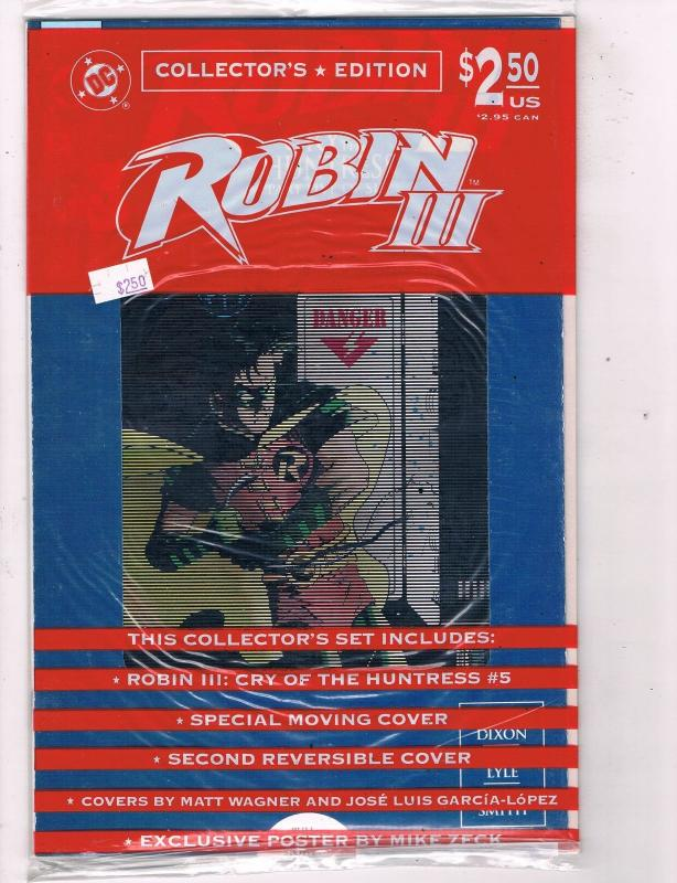 Robin 3 Cry of the Huntress (1992) #5 DC Comic Book KGBeast King Snake HH4 AD38