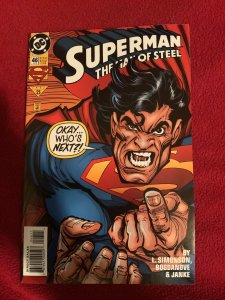 Superman: The Man of Steel #46 (1995)