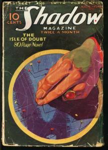SHADOW 1933 AUG 15-STREET AND SMITH PULP-RARE FR
