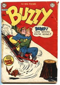 Buzzy #35 1951- Teen Humor- DC Golden Age G
