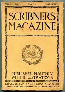 Scribner's Magazine Pulp May 1899- Theodore Roosevelt- Leonard Wood