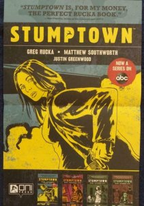 STUMPTOWN Promo Poster, 11 x 17, 2020 ONI Unused more in our store 581