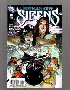 Gotham City Sirens # 18 NM 1st Print DC Comic Book Harley Quinn Poison Ivy SM19