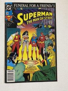 Superman: The Man of Steel #20 (1993)