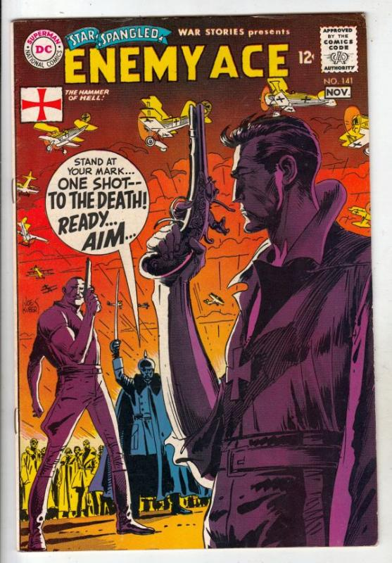 Star Spangled War Stories #141 (Nov-68) NM- High-Grade Enemy Ace