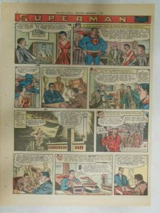 Superman Sunday Page #940 by Wayne Boring from 11/3/1957 Size ~11 x 15 inches