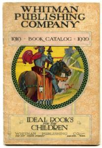 Whitman Publishing Company Book Catalog 1920