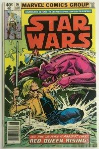 STAR WARS#36 VG 1980 MARVEL BRONZE AGE COMICS