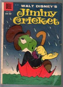 Jiminy Cricket-Four Color Comics #989-1959-Disney Cartoon character-G/VG