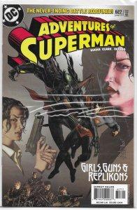 Adventures of Superman   vol. 1   #627 VF