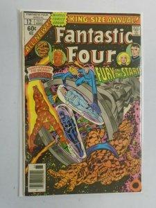 Fantastic Four Annual #12 6.0 FN (1977 1st Series)