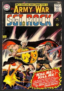 Our Army at War #163  Sgt Rock!