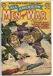 All-American Men Of War #2 1952-DC COMICS-KOREAN WAR COVER-KRIGSTEIN ART-vg