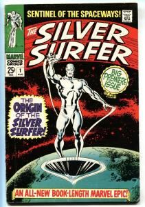 SILVER SURFER #1 COMIC BOOK-1968-Key Issue-Marvel Silver-Age First Issue
