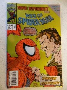 WEB OF SPIDER-MAN FOIL # 117