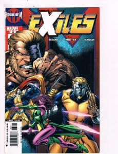Exiles # 69 Marvel Comic Book Awesome Issue Modern Age Blink X-Men WOW!!!!!! S25