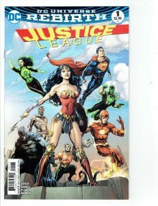 Justice League 1  Fried Pie Color Variant Cover  DC Rebirth  NM - 2016