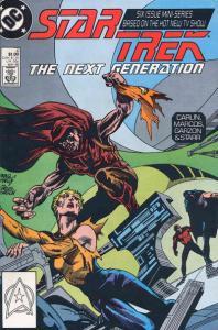 Star Trek: The Next Generation (1988 series) #4, NM- (Stock photo)