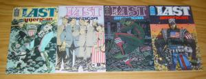 the Last American #1-4 VF/NM complete series ALAN GRANT & JOHN WAGNER political