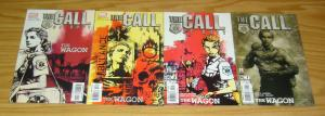 the Call of Duty: Wagon #1-4 VF/NM complete series EMERGENCY RESPONDER 9/11