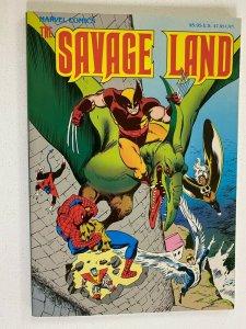 X-Men and Spider-Man Savage Land TPB SC 8.0 VF (1987)