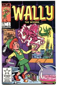 Wally The Wizard #1 1984 Star/Marvel 1st issue NM-