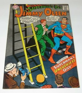 Superman's Pal Jimmy Olsen #104 VF- 1967 Silver Age Comic Book Unluckiest Day