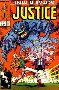 Justice (1986 series) #13, VF (Stock photo)