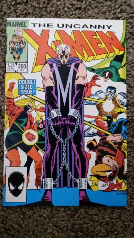 The Uncanny X-Men #200 (1985) FN-FN- see pics