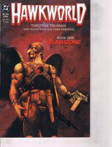 Lot Of 2 Comic Books DC Hawkworld #1 and #3 Batman Superman  MS12