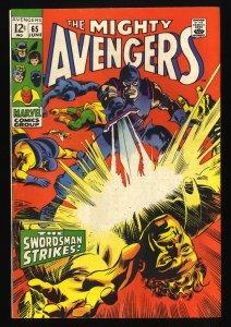 Avengers #65 FN- 5.5 Marvel Comics Thor Captain America