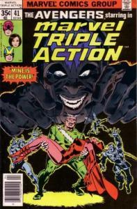 Marvel Triple Action (1972 series) #41, Fine+ (Stock photo)