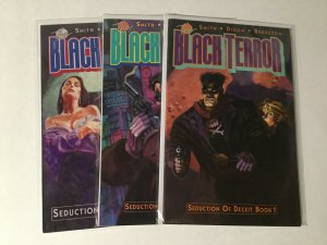 Black Terror 1-3 1 2 3 Lot Nm Near Mint Eclipse Comics