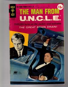 MAN FROM UNCLE  GOLD KEY) 14 VERY GOOD  September 1967