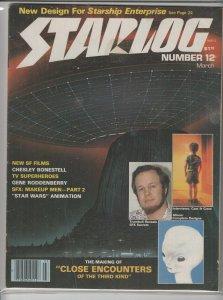 STARLOG MAGAZINE #12 VG A04999