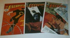 Escapists #1,4,5 (set of 3) Vaughan/Bond/Barreto