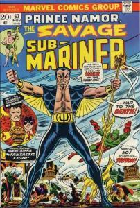 Sub-Mariner (1968 series) #67, VF (Stock photo)