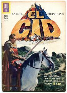 El Cid- Four Color Comics #1259 1961- Charlton Heston VG