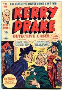 Kerry Drake Detective Cases #11 1948- Bob Powell- Golden Age Crime VG+